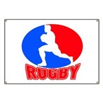 rugby player Banner