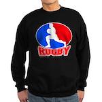 rugby player Sweatshirt (dark)