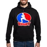 rugby player Hoodie (dark)
