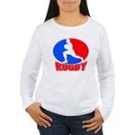 rugby player Women's Long Sleeve T-Shirt