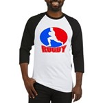 rugby player Baseball Jersey