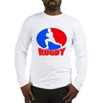 rugby player Long Sleeve T-Shirt