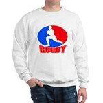 rugby player Sweatshirt