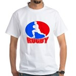 rugby player White T-Shirt