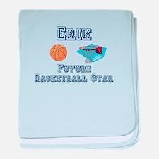 Erik - Future Basketball Star baby blanket