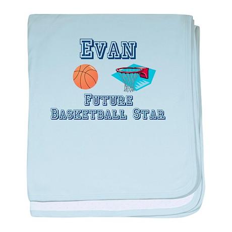 Evan - Future Basketball Star baby blanket