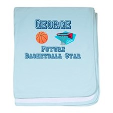 George - Future Basketball St baby blanket
