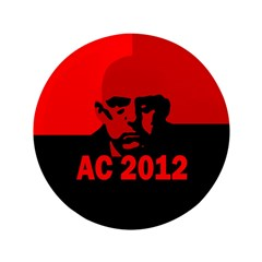 """Aleister Crowley 2012 3.5"""" Button (100 pack)"""