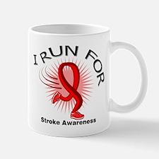I Run For Stroke Awareness Mug