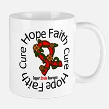 Stroke Hope Faith Cure Mug
