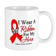 Stroke Ribbon Hero Mug