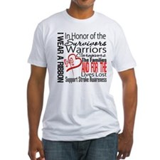 Stroke Ribbon Tribute Shirt