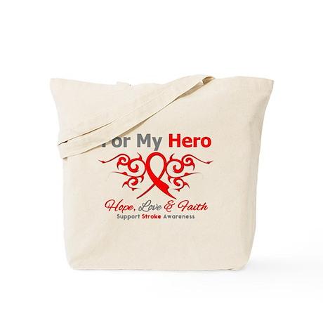 Stroke Hero Tribal Tote Bag