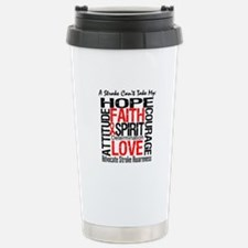 Stroke Can't Take My Hope Travel Mug