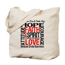 Stroke Can't Take My Hope Tote Bag