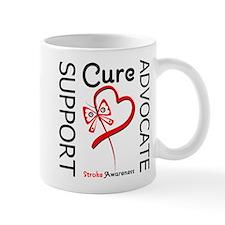 Stroke Support Butterfly Mug