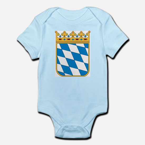 Bavaria Coat of Arms Infant Creeper