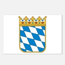 Bavaria Coat of Arms Postcards (Package of 8)