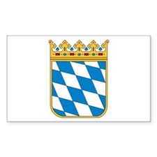 Bavaria Coat of Arms Rectangle Decal