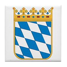 Bavaria Coat of Arms Tile Coaster