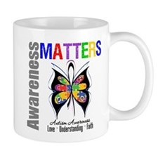 Colorful Autism Butterfly Mug