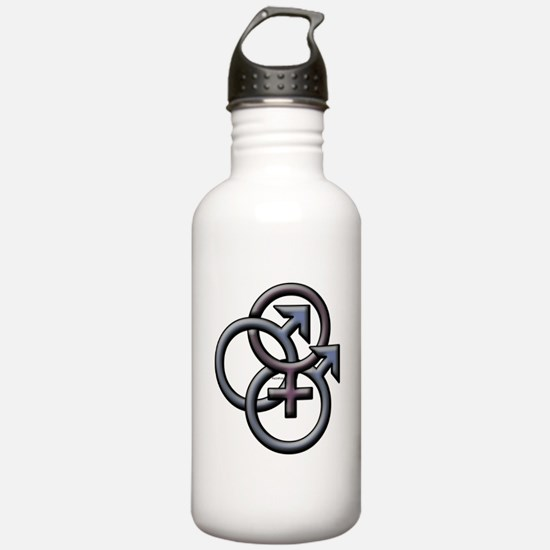 SWINGERS SYMBOL MFM DARK Water Bottle