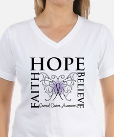 Hope Faith Believe Cancer Shirt