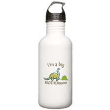 I'm a Big Brother Dinosaur Sports Water Bottle
