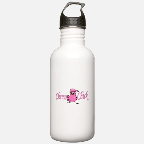 Chemo Chick Chemotherapy Water Bottle