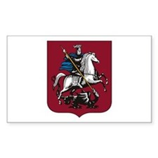 Moscow Coat of Arms Rectangle Decal