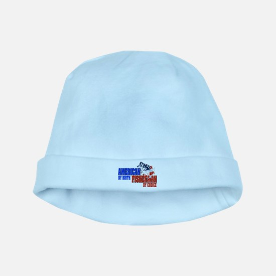 American by Birth - Fisherman by Choice baby hat
