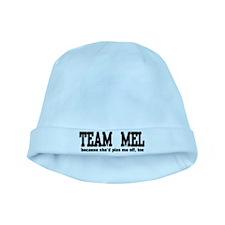 Team Mel Pissed Off baby hat