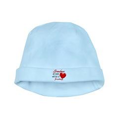 Grandma's Frosting baby hat