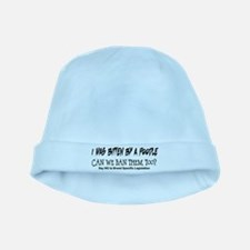 Funny Bully breed rescue baby hat