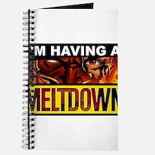 """""""I'm having a MELTDOWN"""" Journal"""