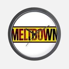 The Official MELTDOWN logo Wall Clock