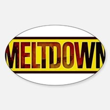 The Official MELTDOWN logo Decal