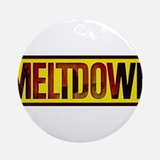 The Official MELTDOWN logo Ornament (Round)