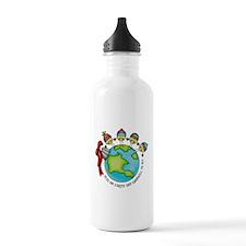 Peas on Earth Water Bottle