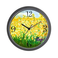 Raps Flower Wall Clock