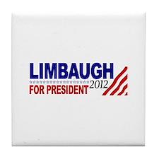 Rush Limbaugh 2012 Tile Coaster