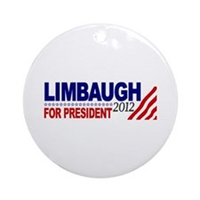 Rush Limbaugh 2012 Ornament (Round)