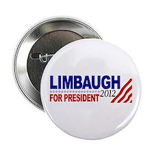"Rush Limbaugh 2012 2.25"" Button"