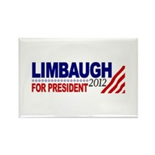Rush Limbaugh 2012 Rectangle Magnet