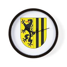 Dresden Coat of Arms Wall Clock