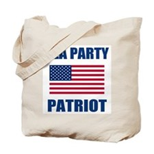 tea party patriot Tote Bag