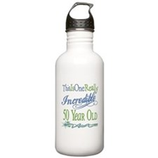 Incredible 50th Water Bottle