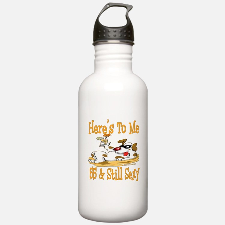 Cheers on 55th Water Bottle
