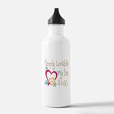 Lovable 60th Water Bottle