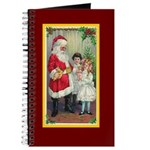 Traditional Santa With Children Journal